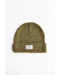 1367f624cd6 ... Urban Outfitters Reason Patch Ribbed Knit Beanie