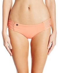 Maaji Cantaloupe Railway Reversible Bikini Bottom