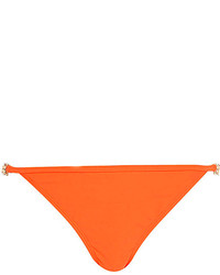 River Island Orange Jewel Strap Bikini Bottoms