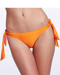 Orange Low Waist Bandage Bikini Pant