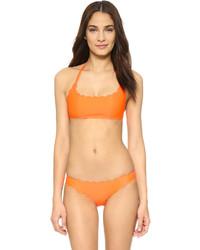 Pilyq Scalloped Bikini Top