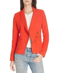Smythe Asymmetrical Button Blazer