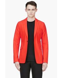 Blood orange cotton noel blazer medium 16109