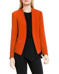 Collarless open front blazer medium 759975
