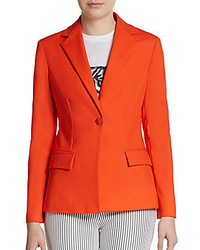 Versace Cotton Blend Blazer