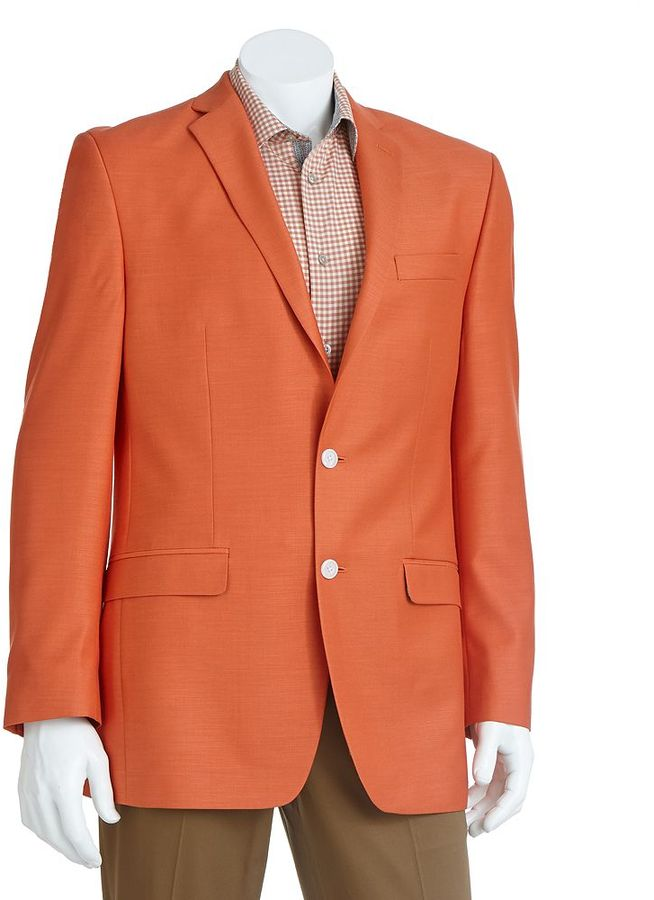 Orange Sport Coat Blazer Jacketin