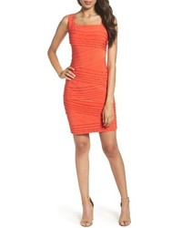 Banded body con dress medium 4015219
