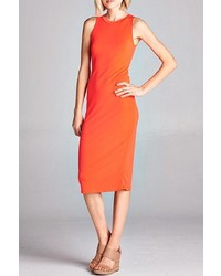 Brea Solid Bodycon Dress