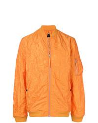 Textured bomber jacket medium 7825552