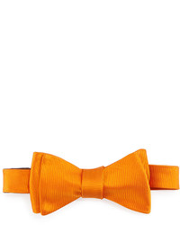 Ted Baker Solid Twill Bow Tie Marigold