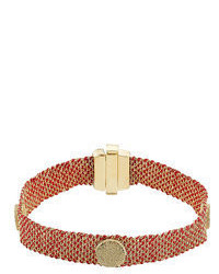 Carolina Bucci 18 Carat Gold And Silk Woven Bracelet