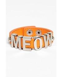BCBGeneration Meow Bracelet Silver Orange