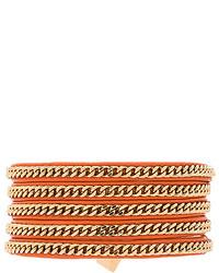 Vita Fede Capri 5 Wrap Bracelet In Taupe
