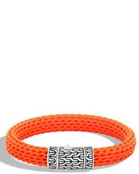Classic chain rubber push clasp bracelet medium 4983072