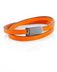 Fendi Leather Wrap Bracelet