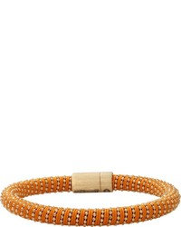 Carolina Bucci Orange Twister Band Bracelet