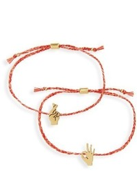 Madewell Pack Of 2 Friendship Bracelets