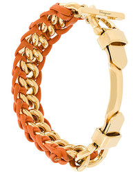 Salvatore Ferragamo Braided Clasp Bracelet