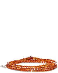 Silver hematite wrap bracelet medium 4472357