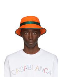 Casablanca Orange Bucket Hat