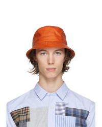 Barbour Orange Norse Projects Edition Wax Sports Hat
