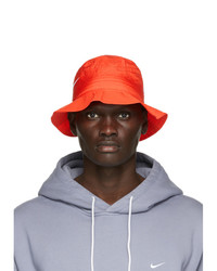 Nike Red Stussy Edition Bucket Hat