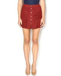 Orange button skirt original 11336897