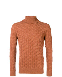 Eleventy Cashmere Cable Knit Sweater