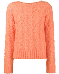 Sies marjan cable knit jumper medium 6870245