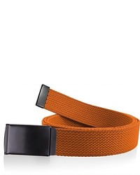 Orange Canvas Belt