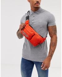 Hugo Record Cross Body Bag In Orange