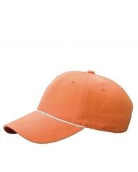 MCap Ladies 6 Panel Brushed Twill Cap Orange