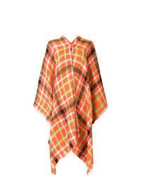 Orange Cape Coat