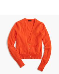 Italian cashmere v neck cardigan sweater medium 957125