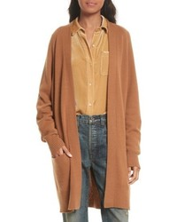 Raglan sleeve cashmere cardigan medium 5262493