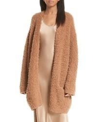 Wool blend teddy cardigan medium 4423657