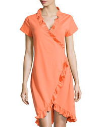 Orange casual dress original 1390803
