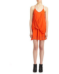 Helmut lang twist jersey dress medium 60798