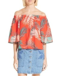 Rebecca Minkoff Faith Off The Shoulder Blouse