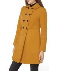 Double breasted swing coat medium 1151235