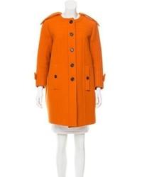Burberry Prorsum Wool Knee Length Coat