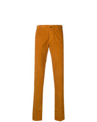 Orange Corduroy Chinos