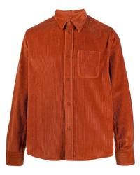 Kenzo Corduroy Spread Collar Overshirt