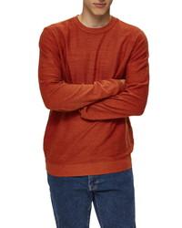 Selected Homme Buddy Slub Crewneck Sweater