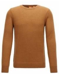 Hugo Boss Italian Alpaca Wool Sweater Kalpak L Beige