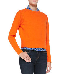 Marc by Marc Jacobs Ivy Knit Crewneck Sweater