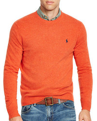 54b383394a316 Men s Orange Sweaters by Polo Ralph Lauren   Men s Fashion