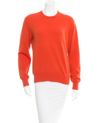 Loro Piana Rib Knit Trim Sweater