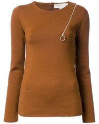 Zip shoulder detail jumper medium 5396317