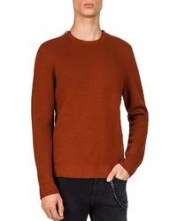 The Kooples Zip Shoulder Sweater